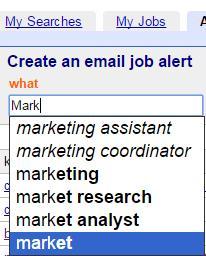 Indeed job alert