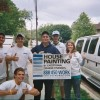 IA, Davenport _ Interns with Client Excited to Paint